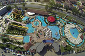 Aqua park - swimming pool Sunny beach